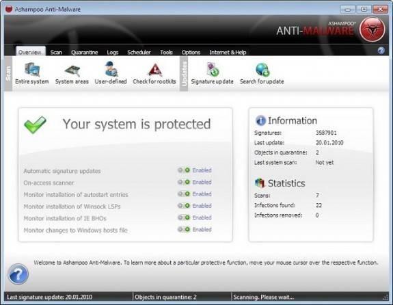 Ashampoo Anti-Malware 10 License Giveaway 2