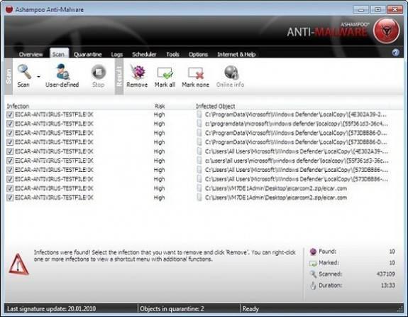 Ashampoo Anti-Malware 10 License Giveaway 4