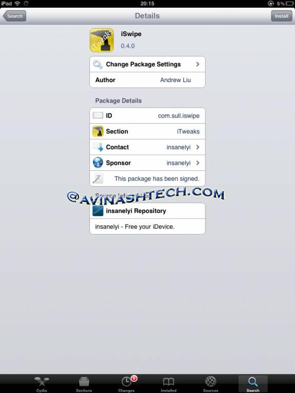 Swype iswipe iphone ipad