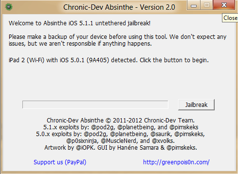 How to Jailbreak iOS 5.1.1 (untethered) on iPhone 4S, iPad 2,3, iPod touch with Absinthe 2.0 2