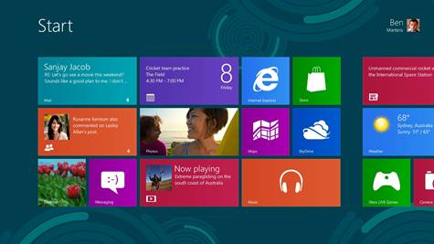 Microsoft releases Windows 8 Preview with Product Key 1