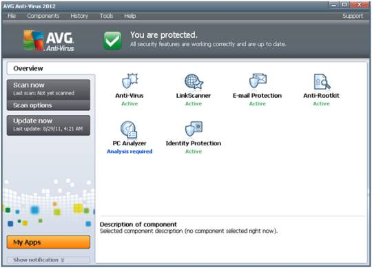 AVG antivirus 2012 - Free AVG Antivirus 2012 released [Review]