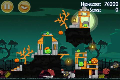 Angry birds halloween - Angry Birds seasons Ham'o'ween for Halloween now available