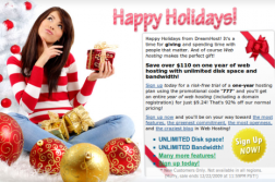 Grab Dreamhost 1 Year Shared hosting package just for $9.24 2