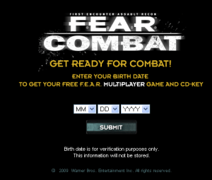 Download Full F.E.A.R. COMBAT Multiplayer game with CD key for free