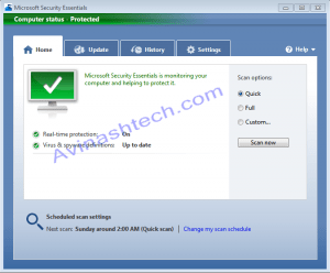 Microsoft Security Essentials (Free AntiVirus Morro) Official Beta Download Links