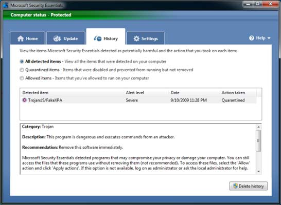 Download Microsoft Security Essentials for Free