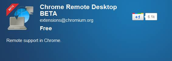 Remotely access another computer through Chrome browser or Chromebook