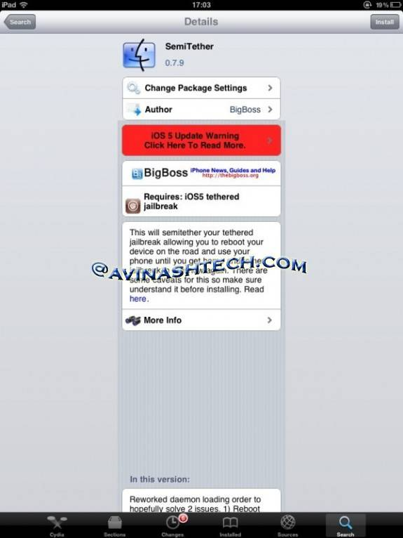 How to get semitethered jailbreak iOS 5 on iPhone, iPad, iPod touch