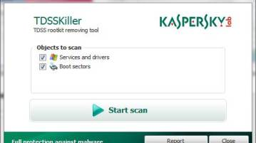 TDSSKiller - Detect, remove unknown rootkits with Kaspersky Anti-rootkit utility TDSSKiller