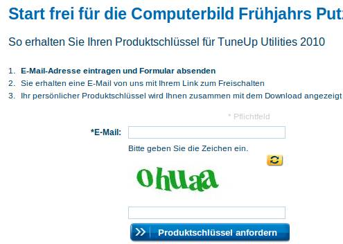 Download TuneUp Utilities 2010 with genuine license key for Free