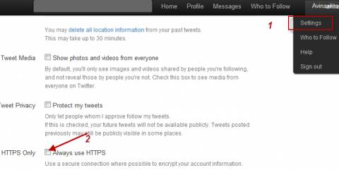 Twitter https 480x241 - How to enable secure HTTPS on twitter and many others