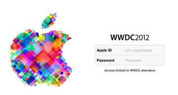 Apple WWDC 2012, June 13 schedule released with an iOS app 6