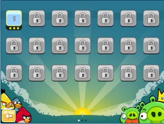 Unlock all Angry Birds Levels in Chrome with a quick hack