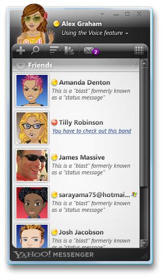 diablo contactlist - Yahoo! Messenger for Vista no longer available