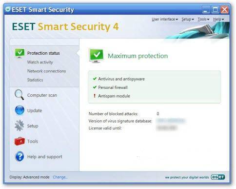 eset smart security 4 - Free ESET Smart Security Home Edition for 6 months