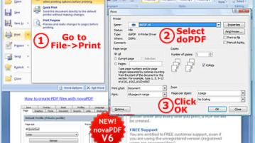 Convert to PDF for free with DoPdf 8