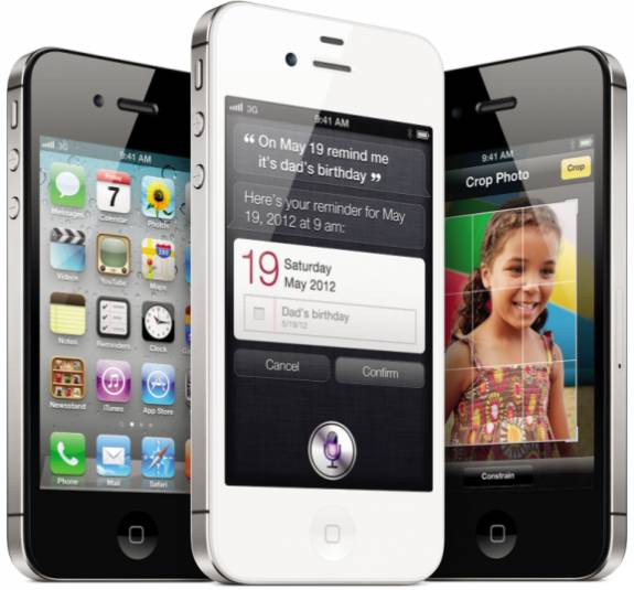 Unlocked iPhone 4S for GSM only coming in November