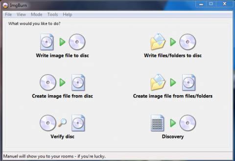 ImgBurn : Best Free CD / DVD Burning Software