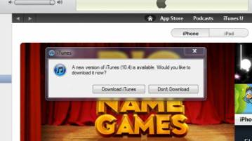 iTunes 10.4 with Full screen App capability and 64 bit support released 8