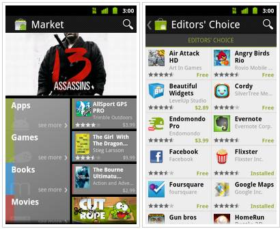 How to install new Android Market on your Android device