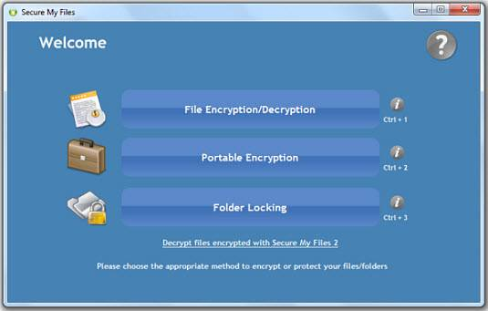 securemyfiles - [Giveaway+ Review] Encrypt and Secure Files, Folders, Removable Disks with Secure My Files