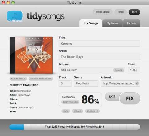tidysongs 480x4391 - Winners : Tidysongs to clean your music