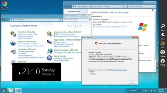 win7 win8 transformation - Get Windows 8 look on Windows 7, Xp and Vista with Windows 8 transformation Pack