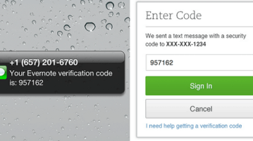 Evernote brings two-step verification, authorized applications and access history 8