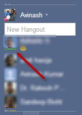 Hangouts online - Google+ Hangouts: How to identify Online friends