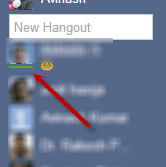 Google+ Hangouts: How to identify Online friends 2
