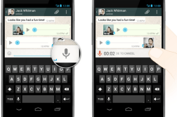 WhatsApp brings voice messages with Push to Talk 1