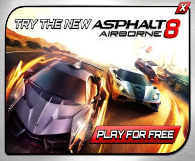 Asphalt 8: Airborne on iPhone, iPad and iPod touch goes FREE