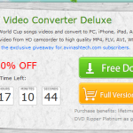 Giveaway : WinX HD Video Converter Deluxe unlimited license key 8