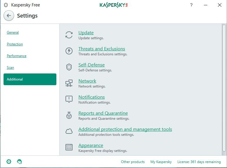 Kaspersky Free Antivirus: Review 9