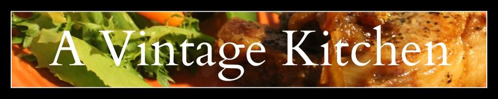 Vintage K header logo