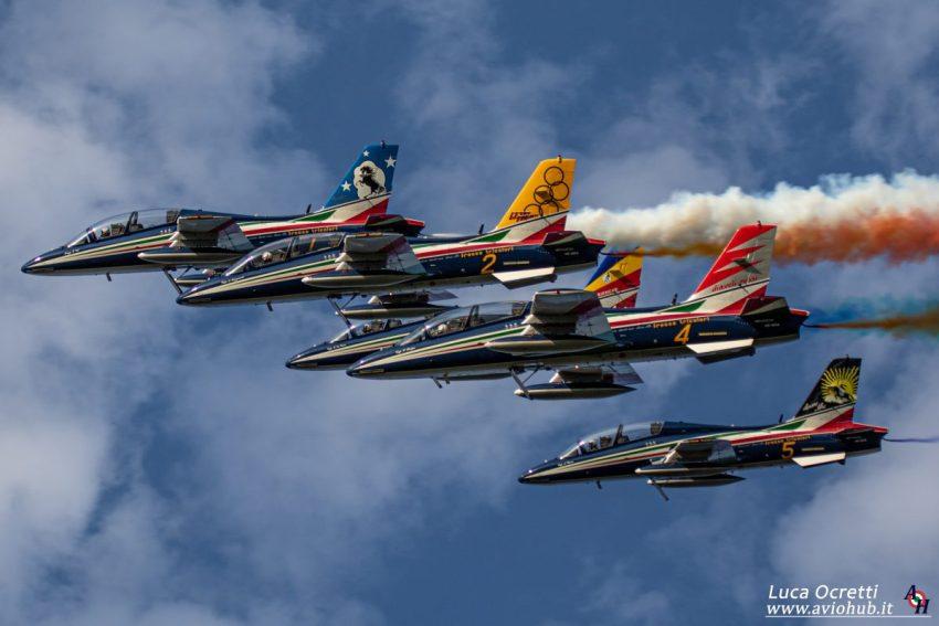 Frecce Tricolori Airshow Maribor