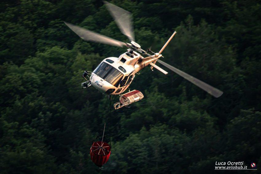 Galleria fotografica elicottero AS350 Elifriulia
