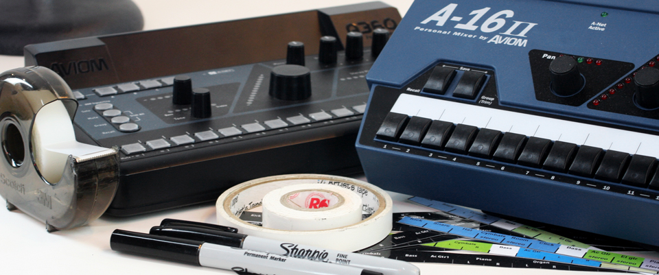 How to Label Your Personal Mixer | Aviom Blog