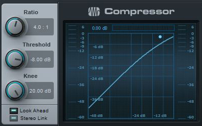 Ration and Threshold settings on a typical compressor