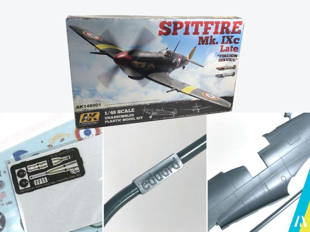 Maquetas_AK_Interactive_Eduard_Spitfire