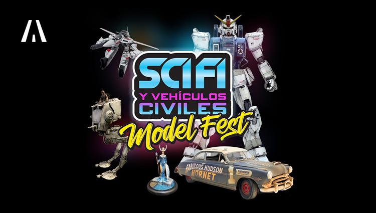Sci Fi & Vehículos Civiles Modelfest 2020