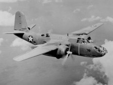 Douglas A-20A of the 58th Bomb Squadron over Oahu, Hawaii, on May 29, 1941. (U.S. Air Force photo)