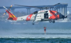 Coast Guard 4th of July SAR demo on Coronado