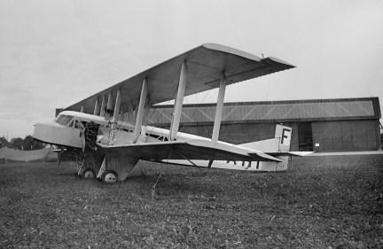 """Von 1921 an wurden davon 60 Stück gebaut und von den Vorläufern der """"Air France"""" in Europa, z. B. auf der Strecke Paris - Dübendorf eingesetzt"""