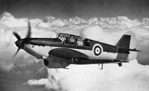 Miles Master_RAF