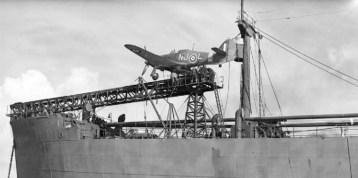 Sea Hurricane sur catapulte