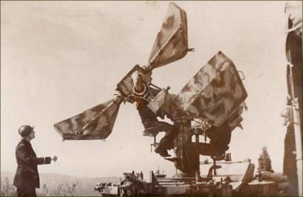 Remorque d'écoute Sautter Harle Mle 34 - 1939