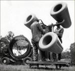 Sound locator M2 - Plateforme d'écoute et projecteur