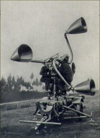 Italie Détecteur acoustique Galileo